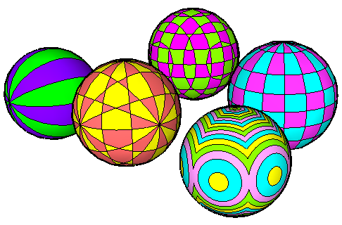 sphere patterns