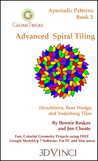 Advanced Spiral Tiling, GeomeTricks Aperiodic Patterns Book 2 (Printed)