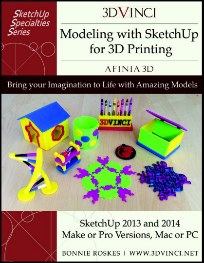 Modeling with SketchUp for Afinia 3D Printing, PDF