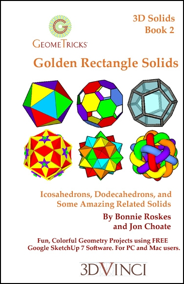 Golden Rectangle Solids, GeomeTricks 3D Solids Book 2 (Printed)