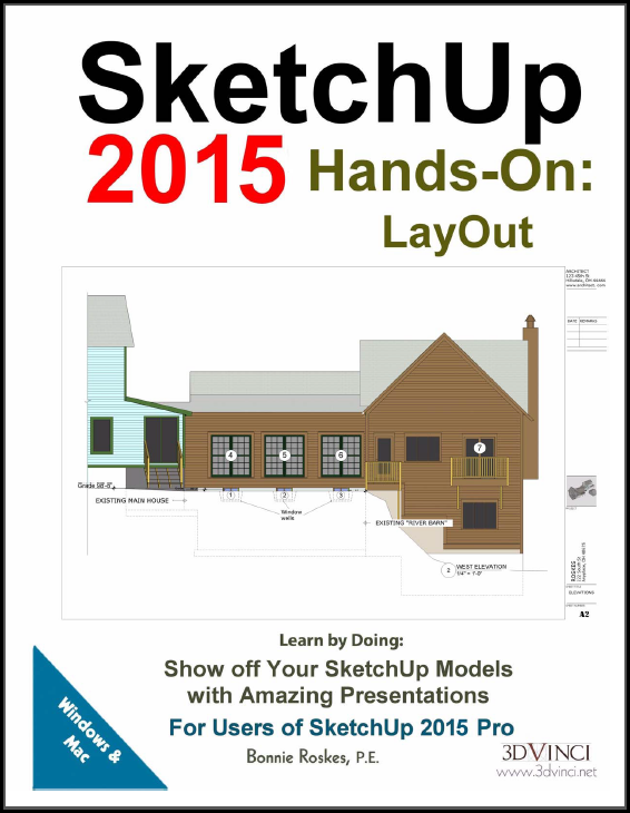 SketchUp 2015 Hands-On: LayOut (Printed)