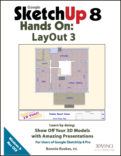 Google SketchUp 8 Hands-On: LayOut 3 (e-book)