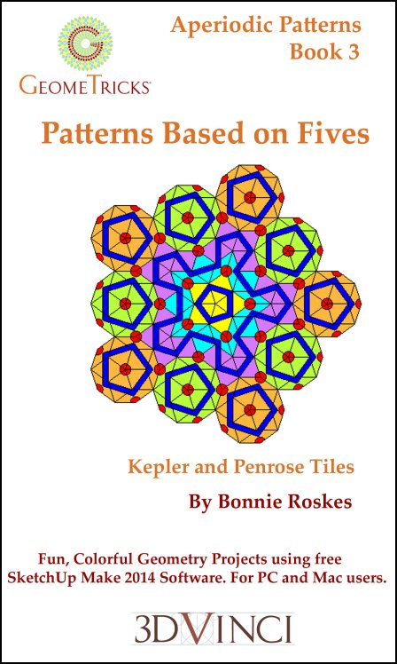 Patterns Based on Fives, GeomeTricks Aperiodic Patterns Book 3 (PDF)