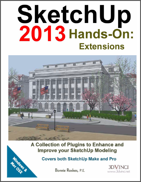 SketchUp 2013 Hands-On: Extensions (color printed)