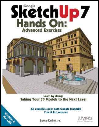Google SketchUp 7 Hands-On: Advanced Exercises (e-book)