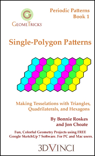 Single-Polygon Patterns, GeomeTricks Periodic Patterns Book 1 (Printed)