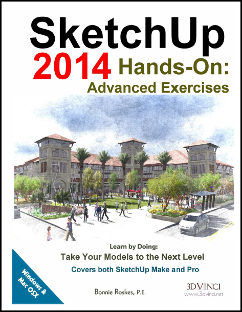 SketchUp 2014 Hands-On: Advanced Exercises (PDF)