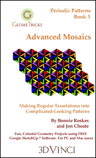 Advanced Mosaics, GeomeTricks Periodic Patterns Book 3 (Printed)