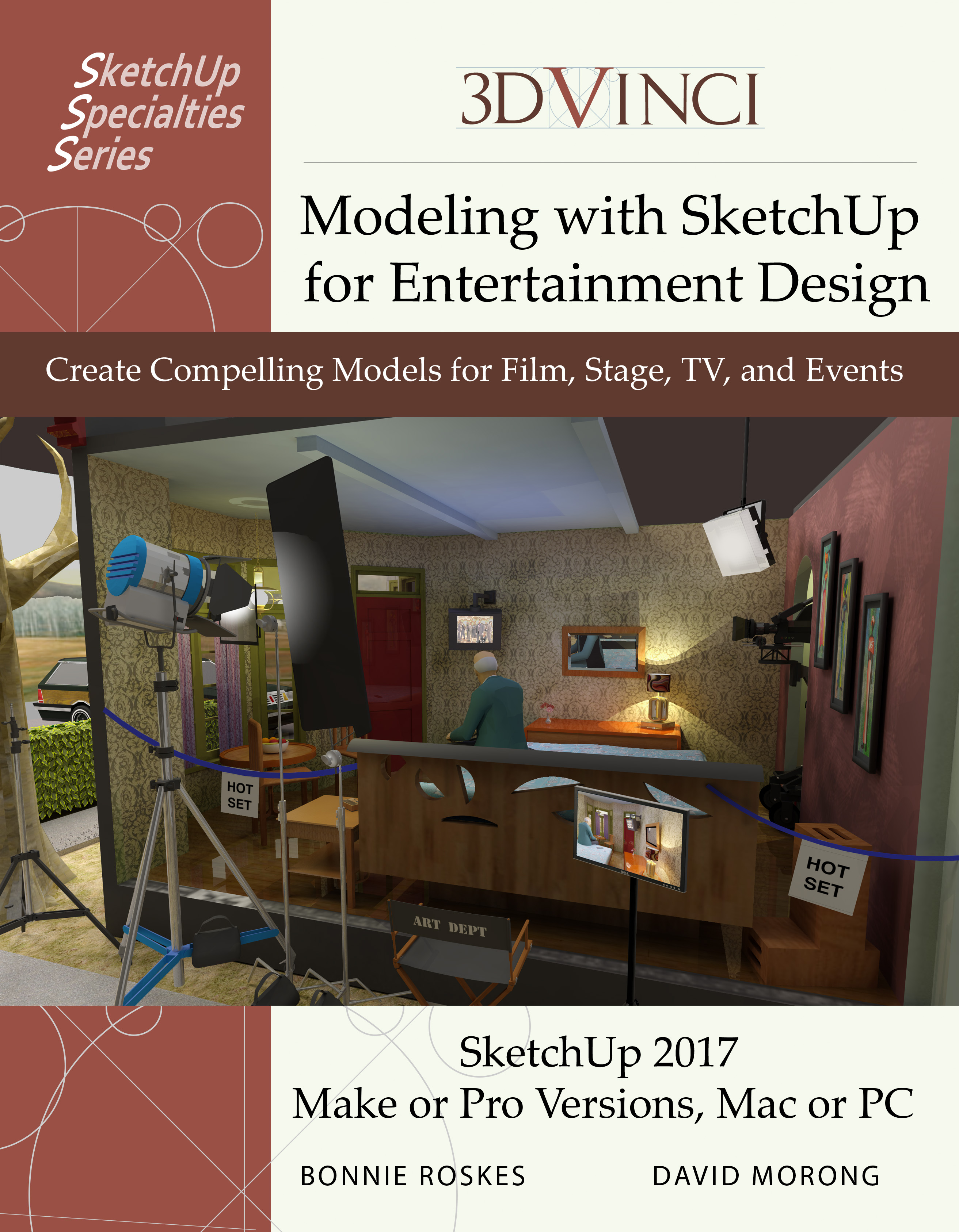 Modeling with SketchUp for Entertainment Design, Printed