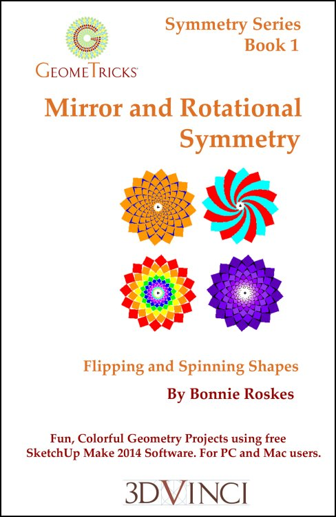 Mirror and Rotational Symmetry, GeomeTricks Symmetry Book 1 (PDF)