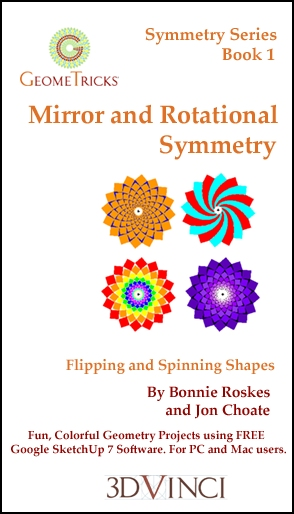 Mirror and Rotational Symmetry, GeomeTricks Symmetry Book 1 (Printed)
