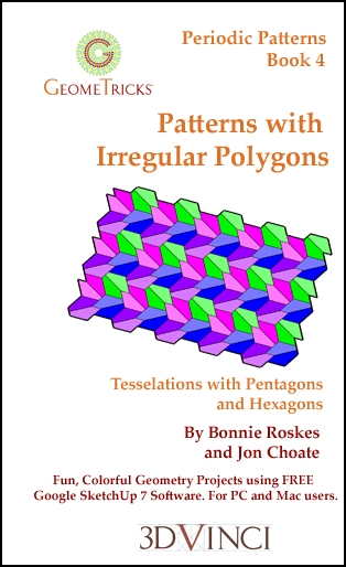 Patterns with Irregular Polygons, GeomeTricks Periodic Patterns Book 4 (Printed)
