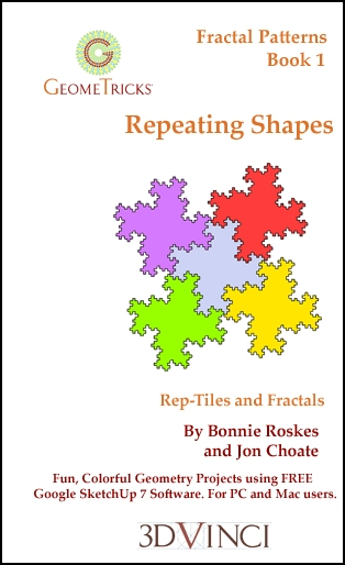 Repeating Shapes, GeomeTricks Fractals Book 1 (Printed)