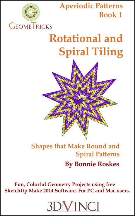 Rotational and Spiral Tiling, GeomeTricks Aperiodic Patterns Book 1 (PDF)