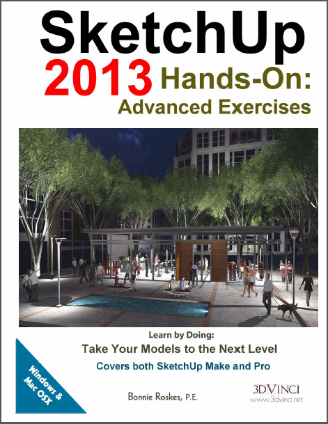 SketchUp 2013 Hands-On: Advanced Exercises (PDF)