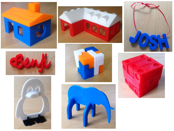 3D Printing Summer Projects